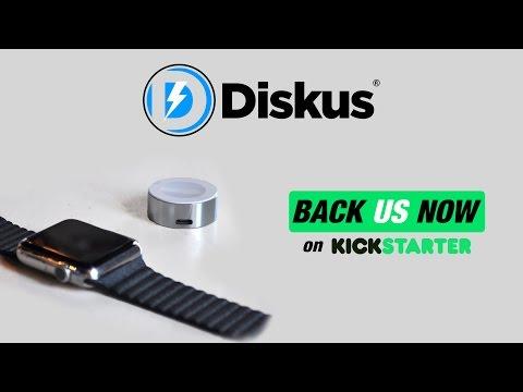Diskus | Apple Watch Charger Kickstarter Video