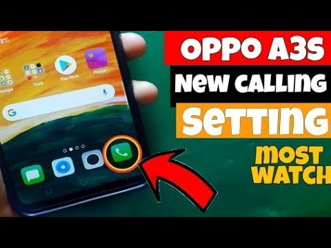 Call Setting In Oppo A3s