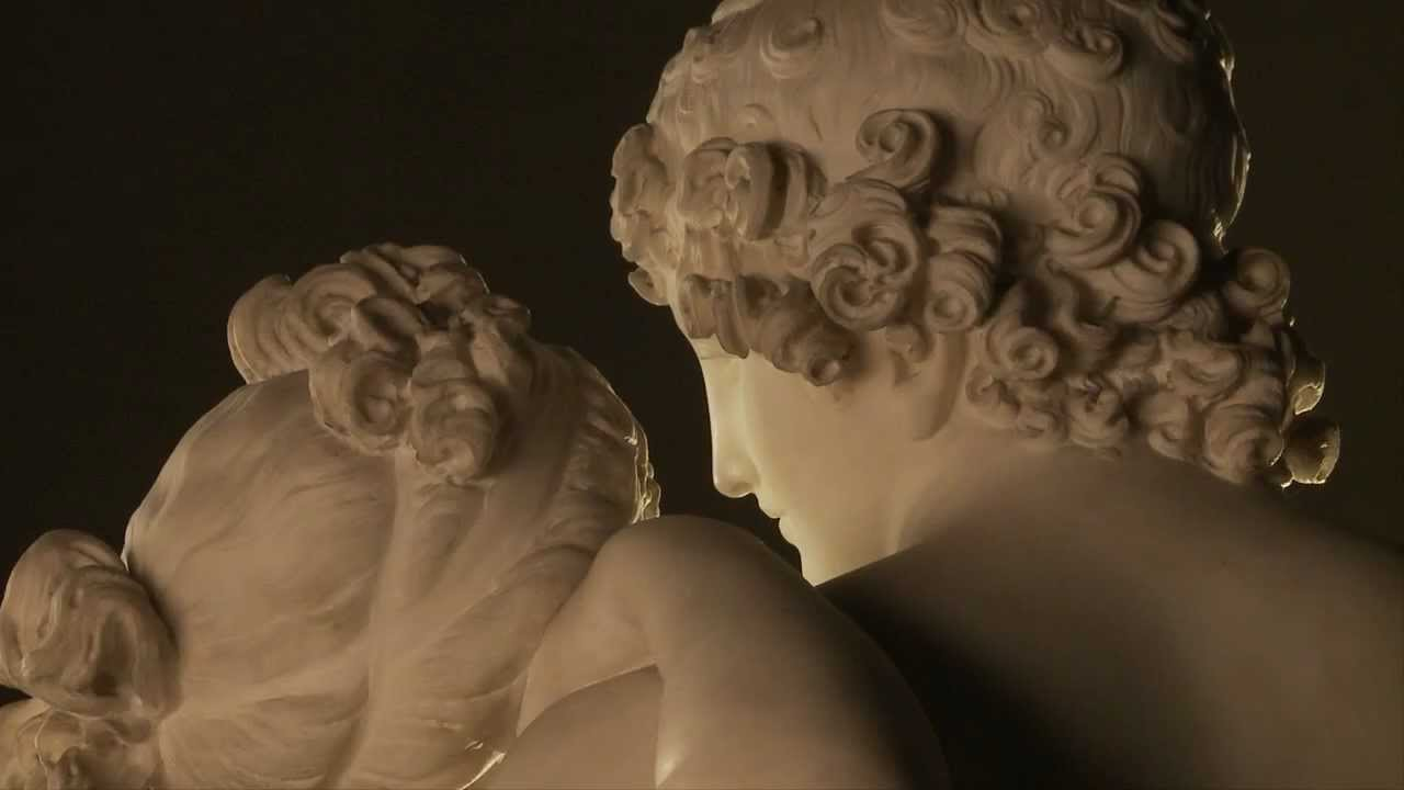 Venus And Adonis Statue d objet - Venus et Adonis