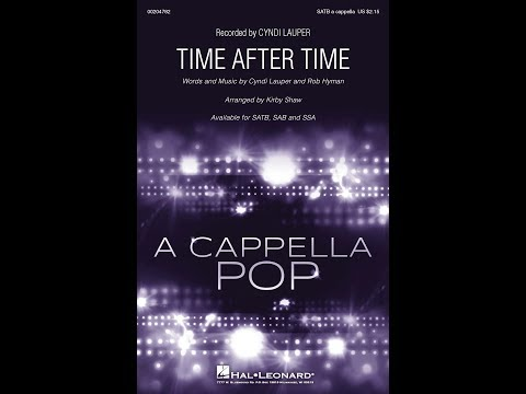 Time After Time SATB  Arranged  Kir Shaw