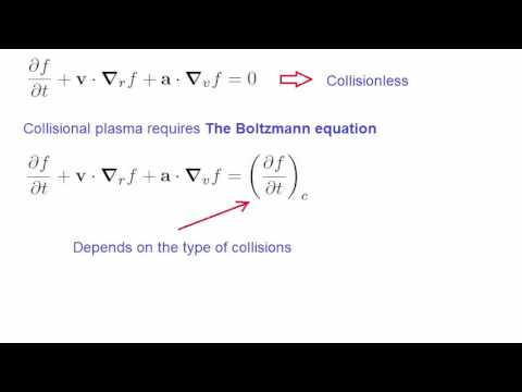 Lecture 18 - Kinetic Theory - The Boltzmann equation - Final Lecture.