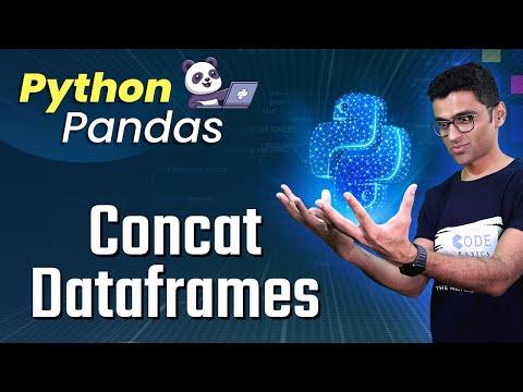 Python Pandas Tutorial 8. Concat Dataframes