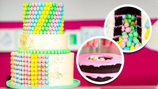 500 MINI EGGS on a Cake! | Easter Quarantine Baking | How To Cake It Step By Step