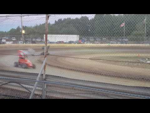 Jack Lathan 125 micro feature 8/6/16 Limerock Speedway