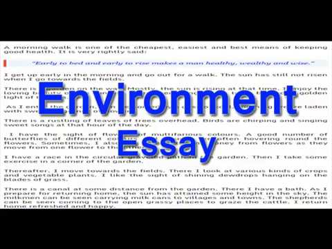 Essay On Environment English Essay For Class  And   Youtube Essay On Environment English Essay For Class  And  Ghostwriter To Write A Book Report For Me also Writer Service  Essay Writing Format For High School Students