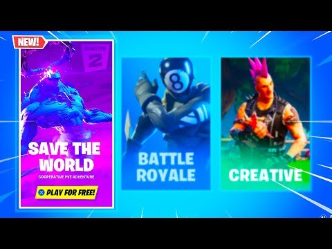 Save The World Is Now FREE In Fortnite Chapter 2!...
