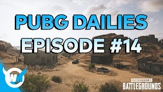 PUBG DAILIES Ep 14 1600SR Solo Gameplay Battlegrounds VOD Review