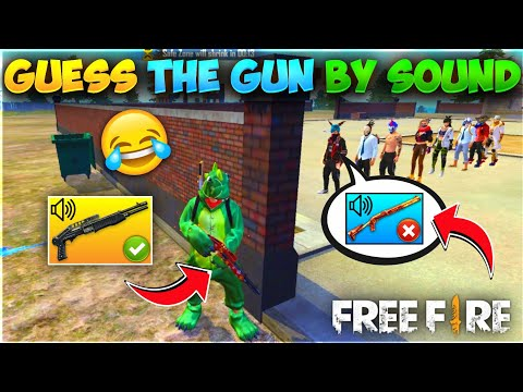 Guess The Gun By Sound Free Fire Funny Game - Must Watch - Who Win Win - Garena Free Fire