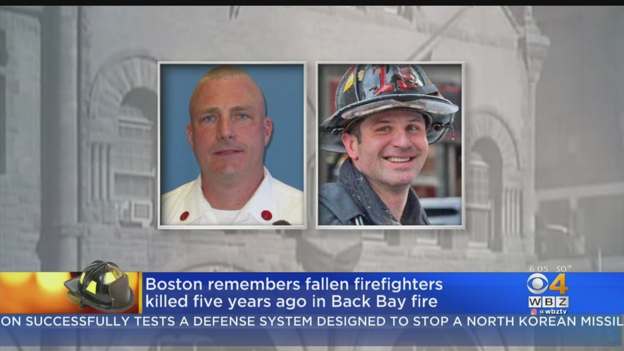 f1a80586f15982 Boston Remembers 2 Firefighters Killed 5 Years Ago In Back Bay Fire ...