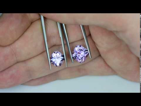 rose de france amethysts