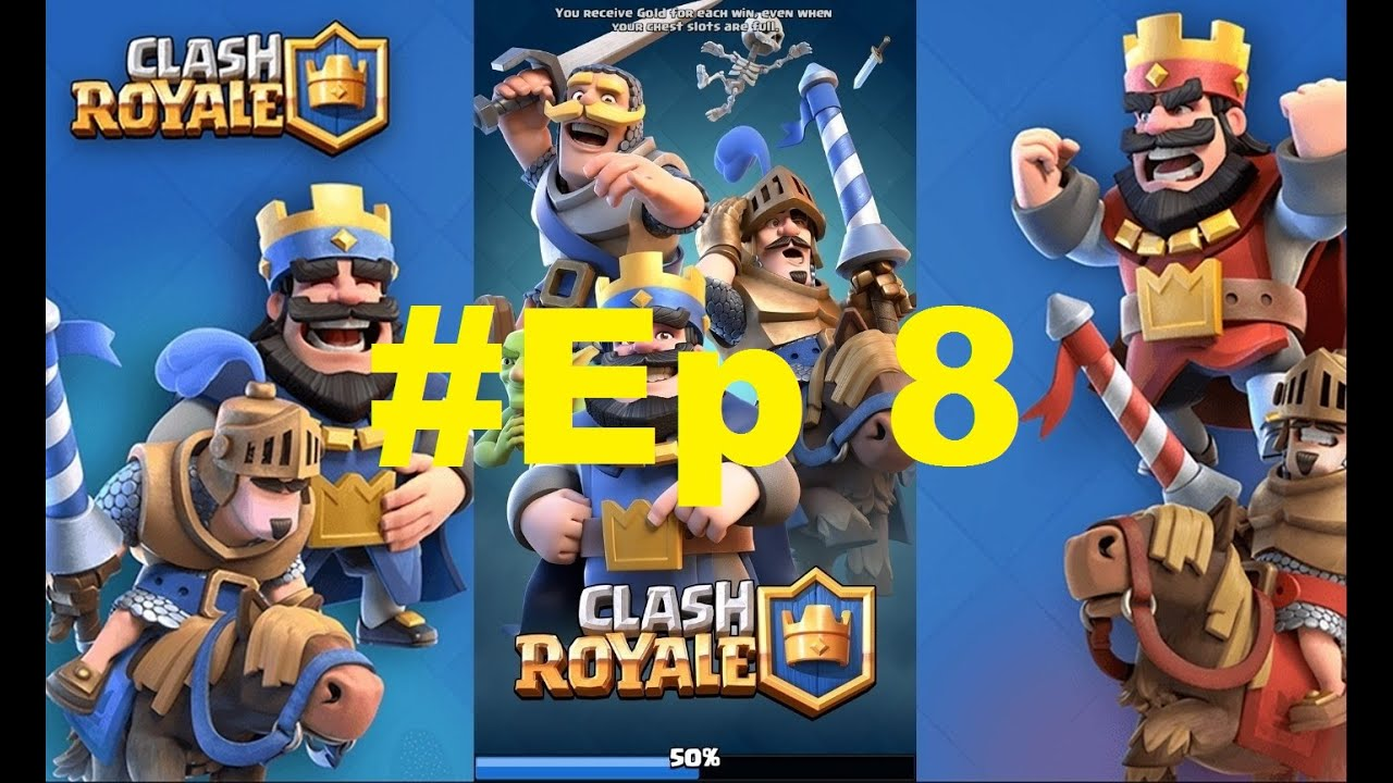 Let's Play Clash Royale Ep 8: CLIMBING OUR WAY UP!