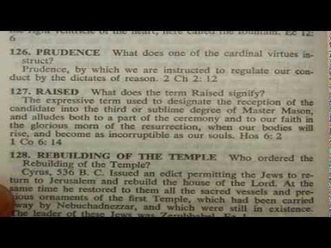 Masonic Bible - exposing the lie that freemasonry is Christian
