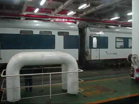 China - Hainan Island Train Ferry