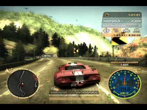 Need For Speed Most Wanted Verfolgung Ford Gt Teil