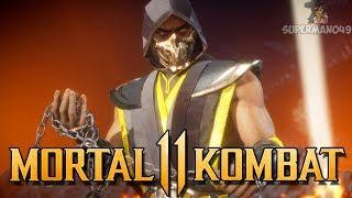 Download lagu Playing With The Rare GOLD DEMON Scorpion Mortal Kombat 11ScorpionGameplay MP3