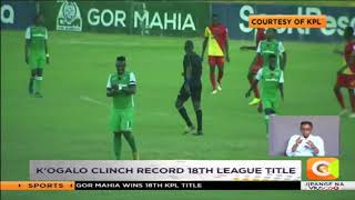 Gor Mahia clinch record 18th league title