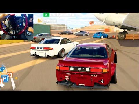 Forza Horizon 3 GoPro AlpineStars BOSS S14 Online Drifting w/Crew