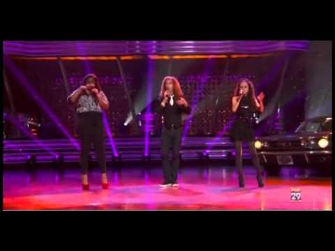 Jessica Sanchez, DeAndre Brackensick, Candice Glover - It Doesn't Matter Anymore