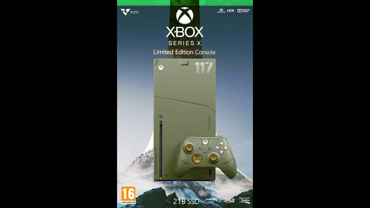 Xbox Series X Halo Infinite Edition Youtube