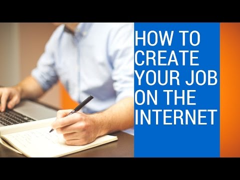 How To Create Your Own Job on The Internet by Darcy Ogandaga Part I