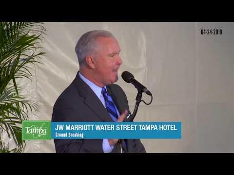 JW Marriott Water Street Tampa Hotel Ground Breaking