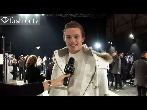 Male Models at Joseph Abboud Fall/Winter 2013-14 BACKSTAGE | Milan Men's Fashion Week | FashionTV