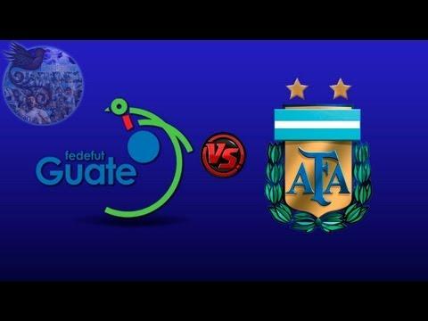 Guatemala 0 - 4 Argentina | Amistoso - 14/06/13
