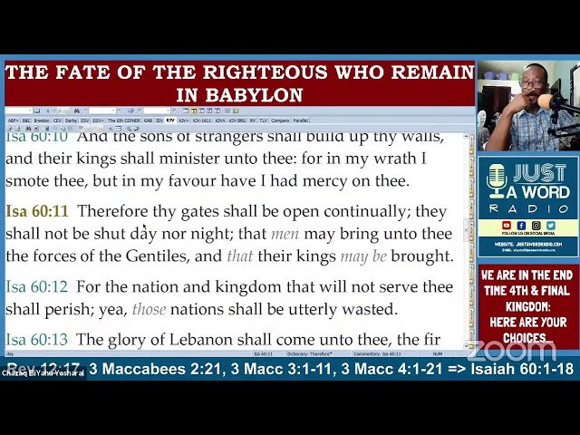We Are In The End Time 4th & Final Kingdom: Here Are Your Choices