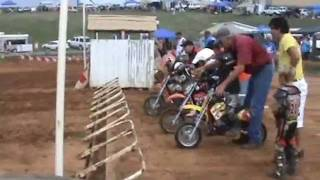 Malcolm Lee Smith, first race, Cobra 50cc Jr 4yrs old
