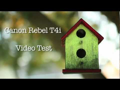 Canon EOS Rebel T4i Video Test