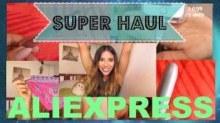 HAUL ALIEXPRESS !!! | Mi primer video : maquillaje, accesorios de celular, bikini