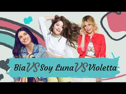 Bia Vs Soy Luna Vs Violetta | Part 1| Abracachasyde