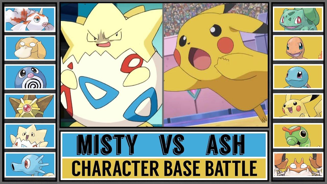 Download Base Pokémon Battle: MISTY vs ASH