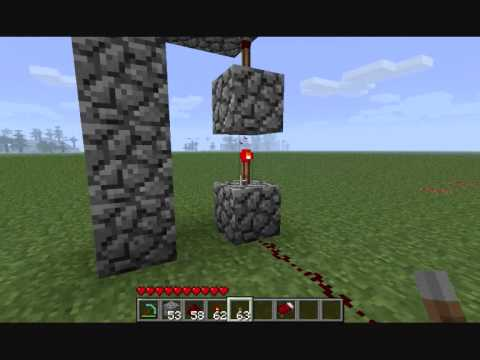 minecraft tutorial redstone wiring up and down youtube rh youtube com Redstone Circuits Redstone Lamp