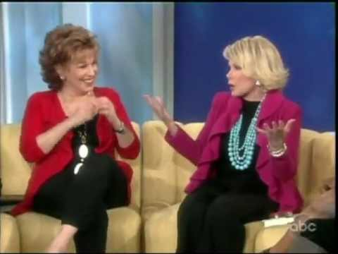 Joan Rivers bitches about her travel nightmare on The View