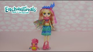 NEW Enchantimals Peeki Parrot Doll Unboxing and Review!!