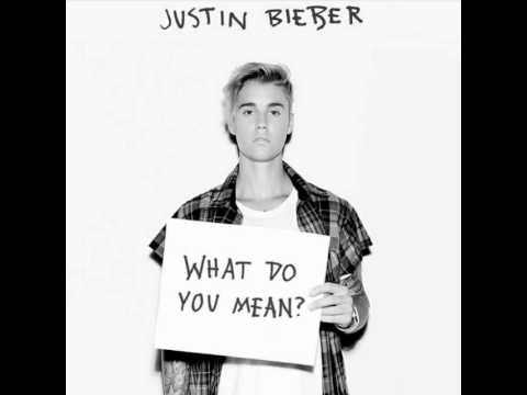 Justin Bieber-What Do You Mean (slow motion song)