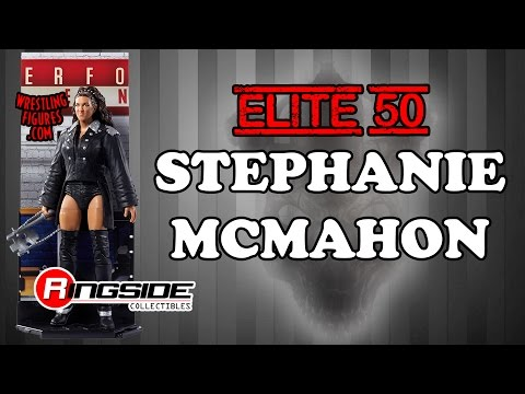 WWE FIGURE INSIDER: Stephanie McMahon - WWE Elite 50 WWE Toy Wrestling Action Figure thumbnail