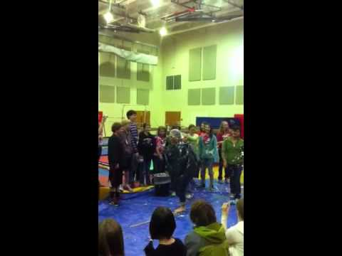 Gunnison middle school pie in the face