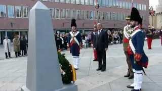 Parada militar Cuerpo de Intendencia