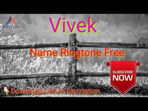 Vivek Name Ringtone Free Download