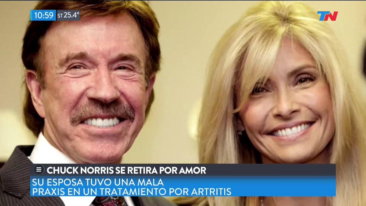 Chuck Norris Se Retira Por La Enfermedad De Su Esposa Youtube