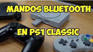 🕹️ 8BITDO WIRELESS BLUETOOTH ADAPTER +  SF30 PRO: LO QUE TU PLAYSTATION CLASSIC NECESITA