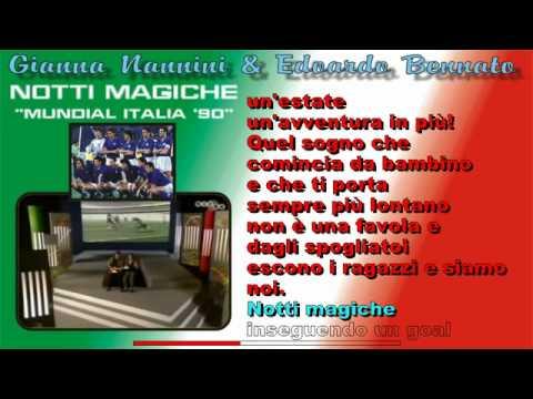 Gianna Nannini e Edoardo Bennato - Notti magiche (Mundial Italia 90)