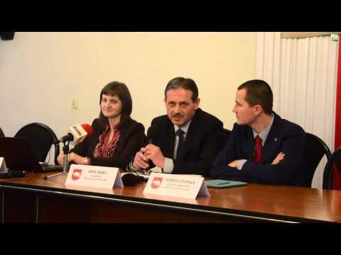 Konferencja prasowa z burmistrzem Jerzym Rębkiem