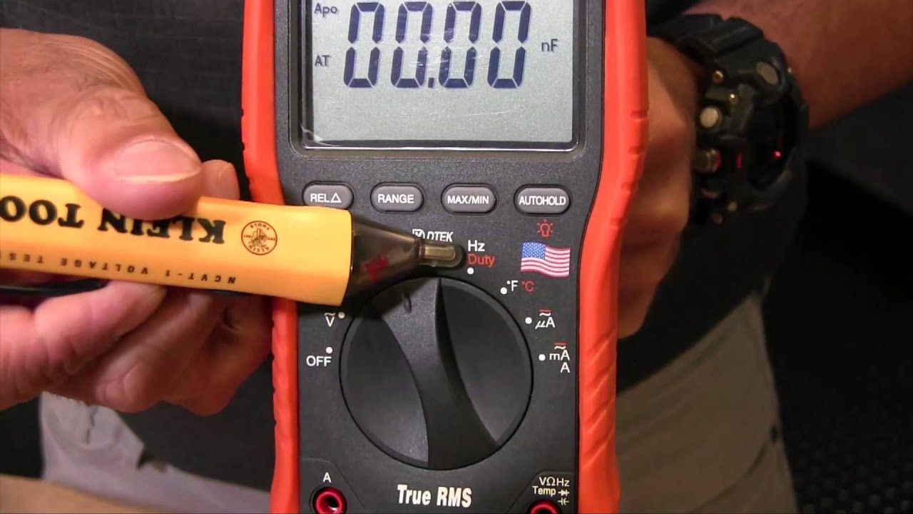 How To Use The Basic Functions Of A Digital Multimeter Youtube Ideal Receptacle Circuit Tester Voltagecontinuity Pricefallscom