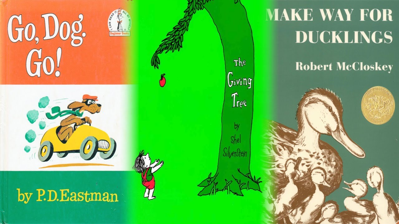 Examples of Illustrated Children's Books
