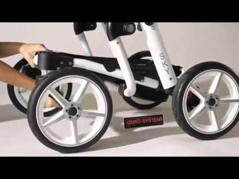 Красивые коляски на выставке МИР ДЕТСТВА 2012