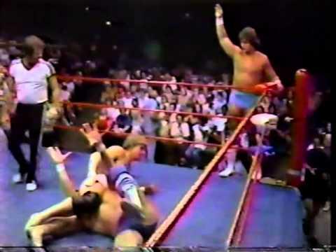 Chris Adams & Gino Hernandez vs Kerry & Kevin Von Erich