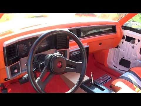 1986 Monte Carlo SS Part 6 Dash Finished & Console Built SSinteriors